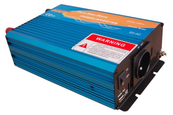 Pure sine wave power inverter 12V/230V  600W
