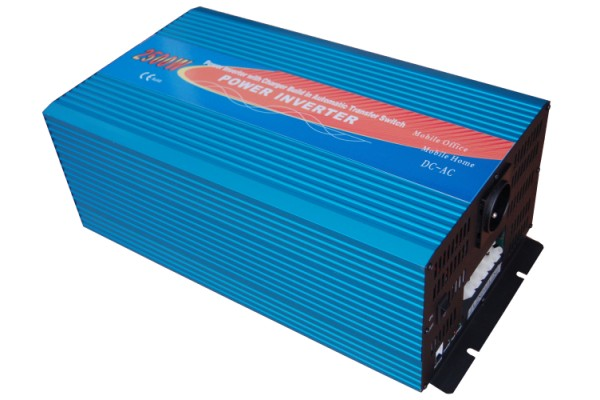 Pure sine wave power inverter 24V/230V 3000W with charger
