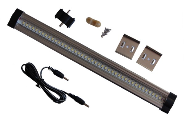 Lot de 4 réglettes LED