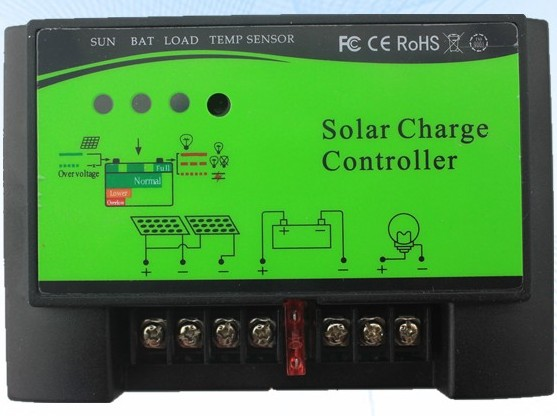 Solar charge controller PWM 12V/24V 30A