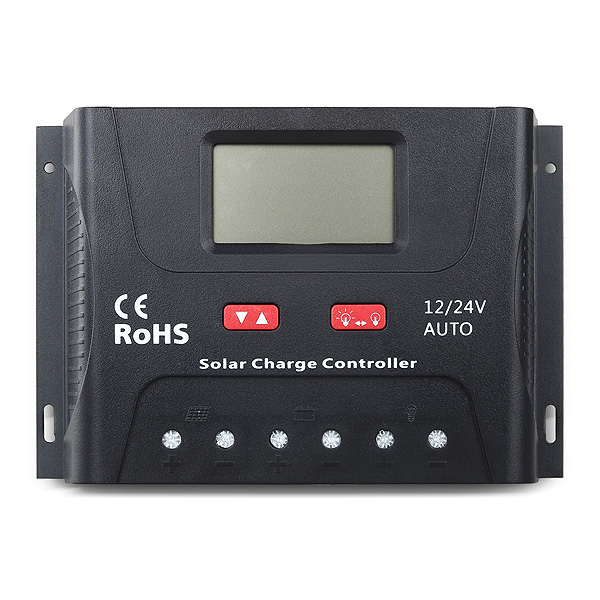 Solar charge controller PWM 12V/24V 40A